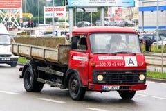 Avia A31. BRNO, CZECH REPUBLIC - JULY 22, 2014: Small dump truck Avia A31 in the city street Stock Photo