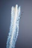 Avia show. Sky Royalty Free Stock Photo