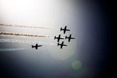 Avia show. Sky Stock Photos