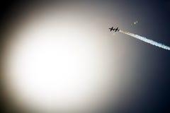 Avia show. Sky Royalty Free Stock Image