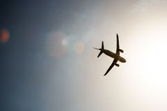 Avia show. Sky Stock Images