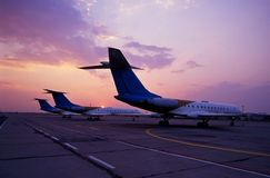 Aviación Foto de archivo libre de regalías