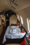 Aviación interior de lujo del asunto de los aviones Imágenes de archivo libres de regalías