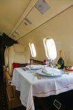 Aviación interior de lujo del asunto de los aviones Foto de archivo