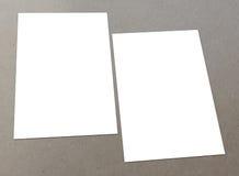 Aviador blanco en blanco Foto de archivo