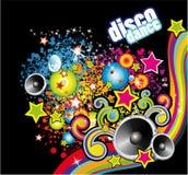 Aviador colorido de la danza del disco Foto de archivo libre de regalías