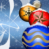 Aviador de la Navidad Foto de archivo libre de regalías