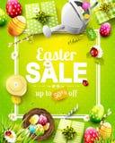 Aviador de la venta de Pascua ilustración del vector