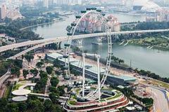 Aviador de Singapur Imagenes de archivo