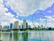 Aviador de Singapur Foto de archivo