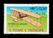 Aviador de Wright foto de archivo libre de regalías