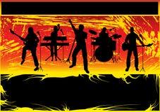 Aviador del concierto de rock Foto de archivo libre de regalías