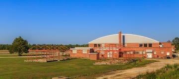 Aviador Hangar de Tuskegee 1 campo de Moton Foto de Stock Royalty Free