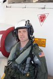 Aviador naval Fotografia de Stock