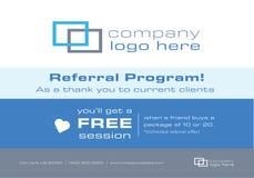 Aviador ou encarregado do envio da correspondência para o programa da referência do negócio Imagem de Stock Royalty Free