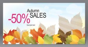 Aviador promocional del otoño Fotografía de archivo libre de regalías