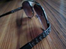 Aviador Sunglasses del color de Champán fotos de archivo libres de regalías