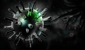 Avian virus Royalty Free Stock Photography