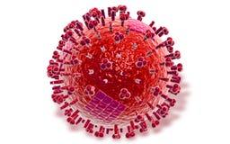 Avian Virus Royalty Free Stock Photography