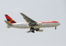 Avianca Boeing 767 royalty-vrije stock afbeeldingen