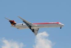 Avianca Colombia passenger jet Royalty Free Stock Photo