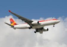 Avianca Colombia passenger jet airplane Royalty Free Stock Photo
