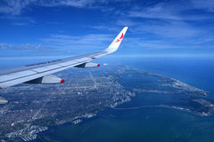Avianca flygbolag Royaltyfria Bilder