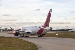 Avianca flygbolag Boeing 787 Fotografering för Bildbyråer
