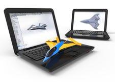 Aviação CAD Fotografia de Stock