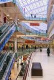 Aviapark -购物和娱乐,位于莫斯科,俄罗斯 免版税库存图片