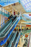 Aviapark -购物和娱乐,位于莫斯科 免版税图库摄影