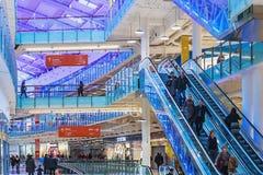 Aviapark, compras y entretenimiento, situados en Moscú Fotos de archivo libres de regalías