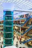 Aviapark, compras y entretenimiento, situados en Moscú Imagen de archivo