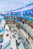 Aviapark, compras y entretenimiento, situados en Moscú Imágenes de archivo libres de regalías