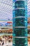 Aviapark, compras y entretenimiento, situados en Moscú, Rusia Imágenes de archivo libres de regalías