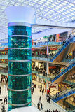 Aviapark, shopping and entertainment, located in Moscow Stock Image