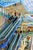 Aviapark - shopping och underhållning som lokaliseras i Moskva Royaltyfri Fotografi