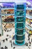 Aviapark - winkelen en vermaak, gevestigd in Moskou, Rusland Stock Foto's