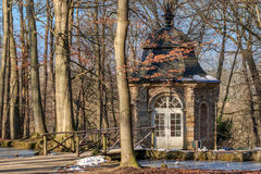 Aviary - Chinese Bird house in an old baroque garden. Stock Images