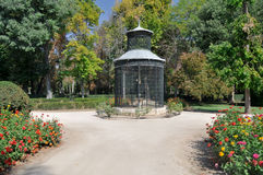 Aviary at Island garden, Aranjuez Stock Image