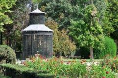 Aviary at Island garden, Aranjuez (Madrid) Stock Photo