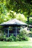 Aviary in Tropical Garden. Royalty Free Stock Photos