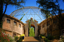 Aviary in Zoo in Rome Stock Photography