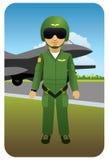 Aviateur Image stock