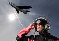 Aviateur Images stock