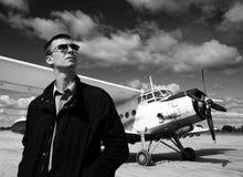 Aviateur Photographie stock libre de droits