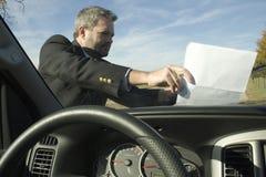 Aviateur de pare-brise photo libre de droits