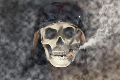 Aviateur Skull Photos stock