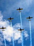 aviatic show Fotografering för Bildbyråer