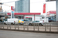 Aviatiei de Luk Oil Imagens de Stock Royalty Free